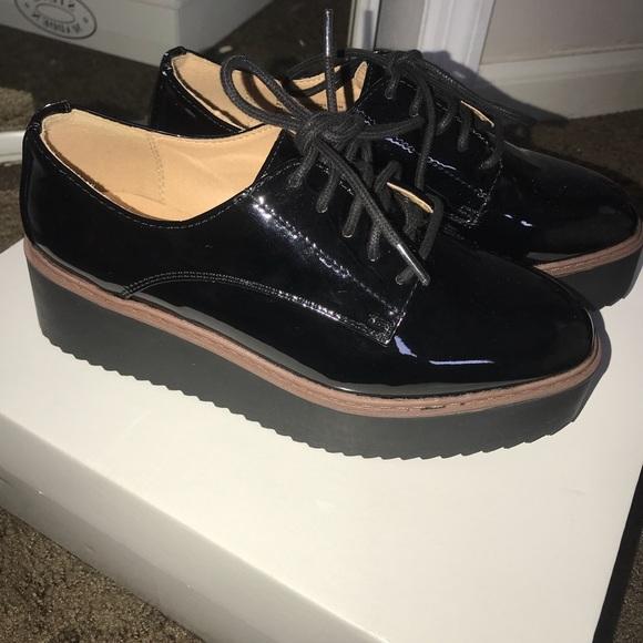 fefde891d62a Madden Girl Shoes - Madden Girl Platform Oxfords (Written)-Brand New